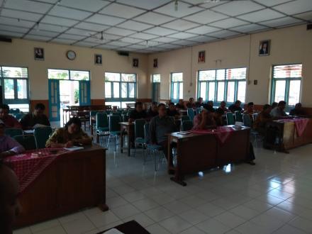 Sosialisasi Program PAMSIMAS III Kabupaten Bantul di Desa Tirtosari