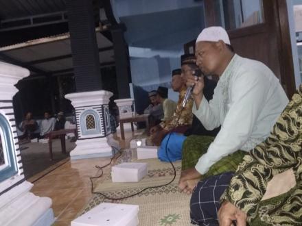 Pengajian Maulid Nabi Muhammad SAW Dusun Buruhan Desa Tirtosari