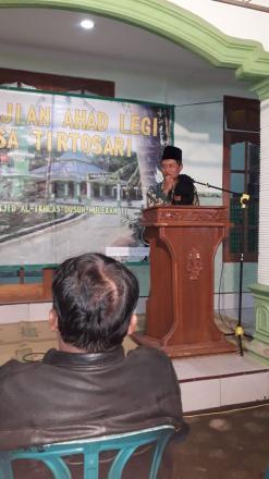Pengajian Ahad Legi Dusun Kirobayan Desa Tirtosari