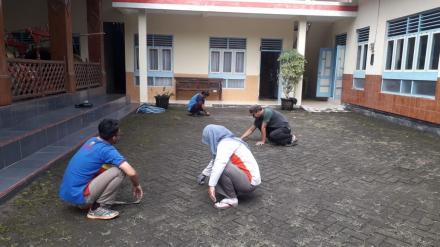 Jumat Bersih Pamong Desa Tirtosari