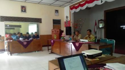Musyawarah tentang Pungutan Desa th 2019