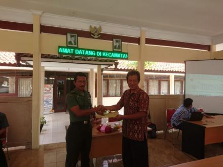 Sidang Pleno Penetapan DPTB kecamatan Kretek
