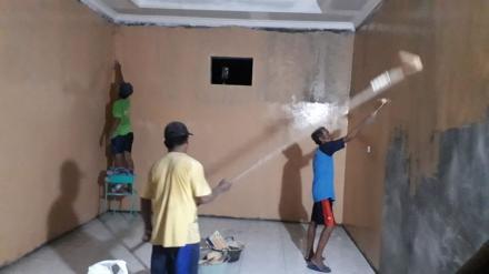 Pengecatan Gedung Balai Desa Tirtosari